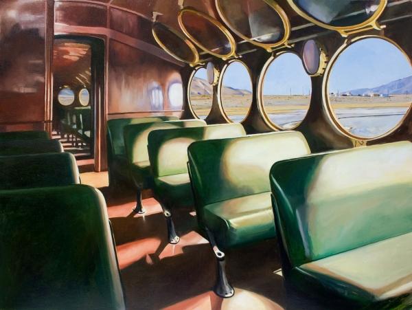PATRICIA CHIDLAW, Ghost Train, 2020