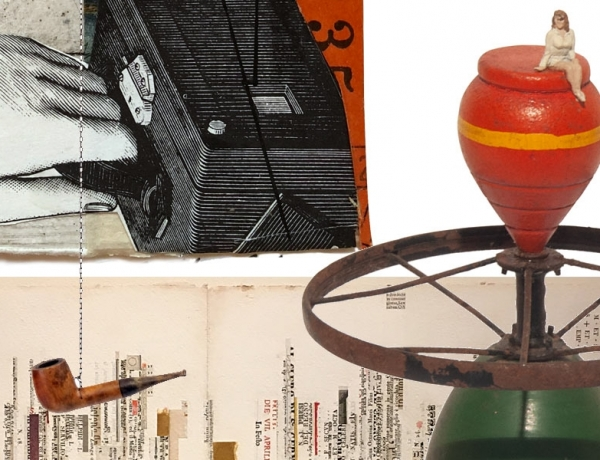 The Red-Headed Stepchild: The History of Collage & Assemblage in Santa Barbara: 1955-2018