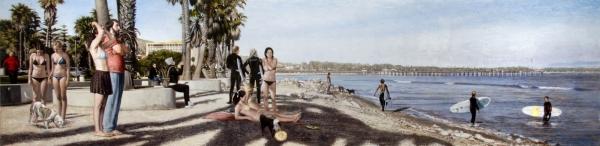 John Nava brings his Paintings and Tapestry back to Santa Barbara