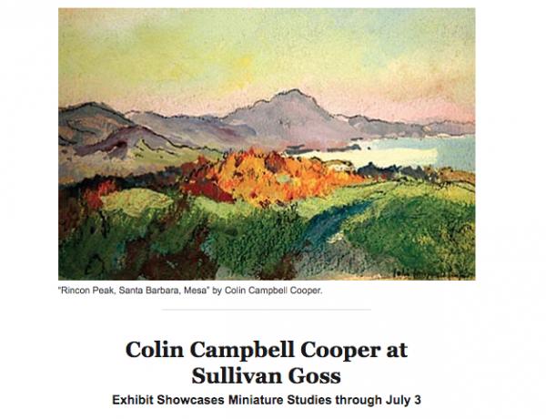 Colin Campbell Cooper at Sullivan Goss