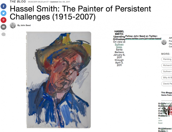 Hassel Smith: The Painter of Persistent Challenges (1915-2007)