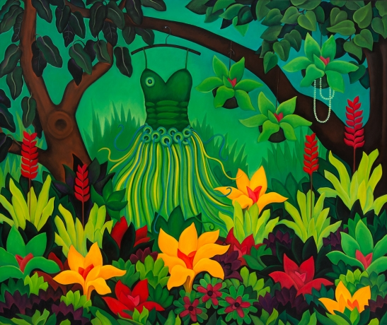 Artist Angela Perko Explores Earthly Delights in Solo Exhibit at Sullivan Goss