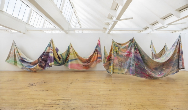 DIA ART FOUNDATION AND THE MUSEUM OF FINE ARTS, HOUSTON MAKE HISTORIC CO-ACQUISITION OF SAM GILLIAM'S 'DOUBLE MERGE'