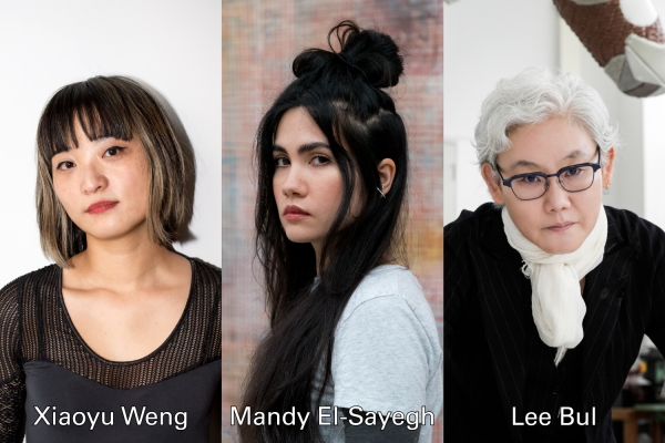 In Conversation: Mandy El-Sayegh and Xiaoyu Weng