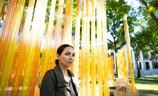 TERESITA FERNÁNDEZ ANSWERS OUR QUESTIONS ABOUT HER LATEST PUBLIC INSTALLATION