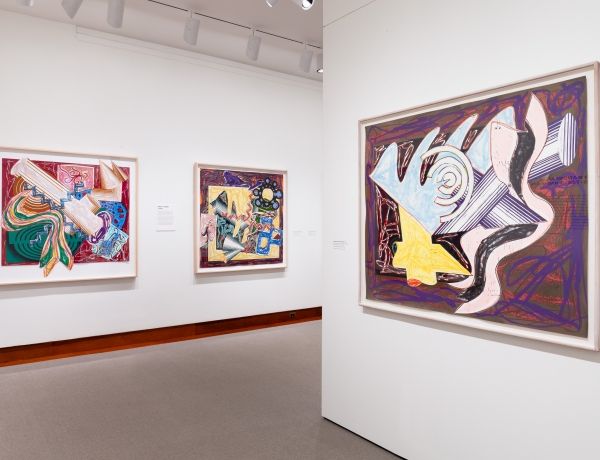 'Frank Stella Unbound' Review: Leaving His Mark on Literature