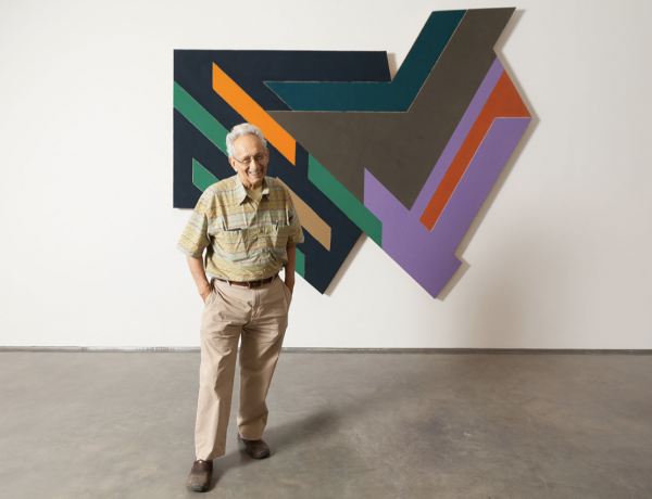 Colliding worlds: Frank Stella and the Synagogues of Historic Poland