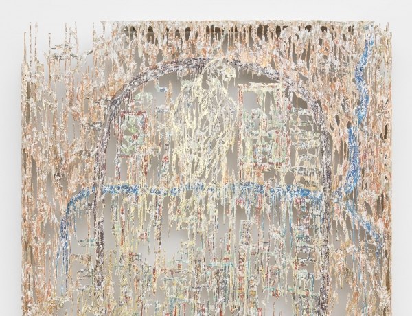 "Diana Al-Hadid in Group show ""Second Hand"""