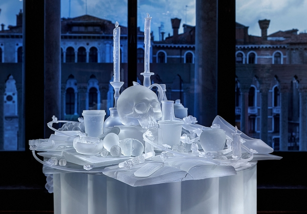 Hans Op de Beeck at Glasstress 2019