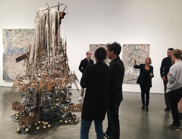Diana Al-Hadid at Marianne Boesky Gallery: Ancient Enchantment for the Contemporary Milieu