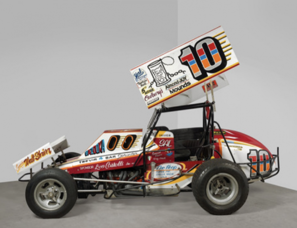 Race Cars Star in Hirshhorn's Scarpitta Retrospective