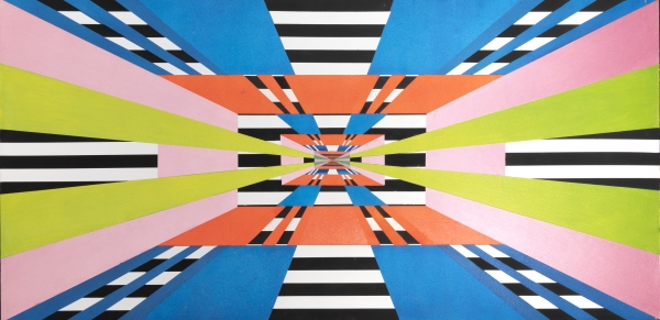 Discovering Tom Bronk's Concentric Abstractions