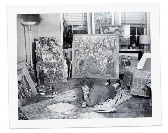 Overlooked No More: Janet Sobel, Whose Art Influenced Jackson Pollock