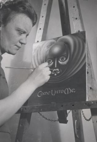 Paulina Peavy, the Spiritualist Artist Who Channeled a UFO