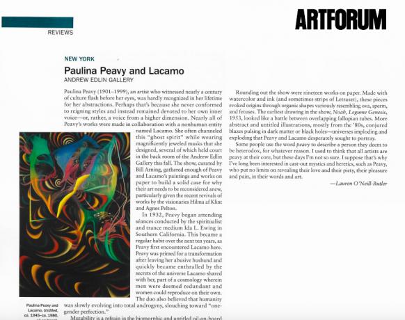 Reviews: Paulina Peavy and Lacamo