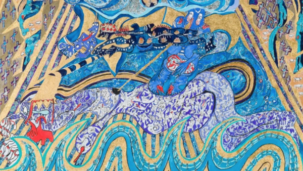 A Painter Finds Visionary Art in Schizophrenia   City of the Seekers
