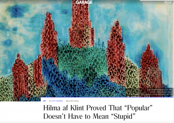 """Hilma af Klint Proved That """"Popular"""" Doesn't Have to Mean """"Stupid"""""""