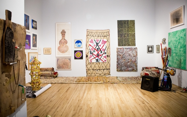 'Purple States' and 'Cafe Dancer Pop-Up' at Andrew Edlin Gallery