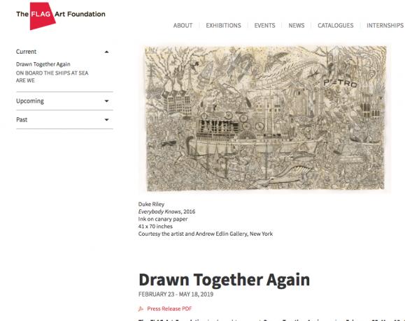 "Duke Riley, Susan Te Kahurangi King, and Melvin Way in ""Drawn Together Again"""