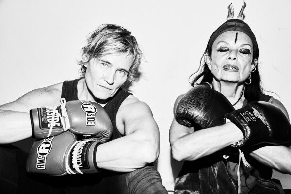 Katya Bankowsky and Michèle Lamy wage a boxing 'Battle Royale' in the Bronx