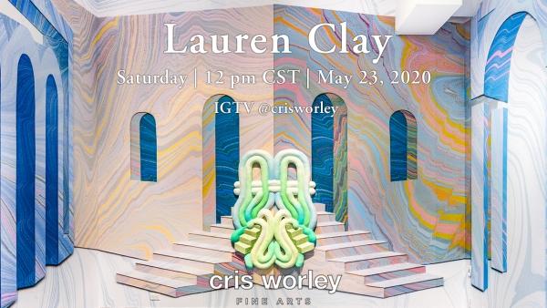CWFA Artist Conversation Series: Lauren Clay