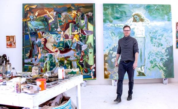 Joshua Hagler at the Torrance Art Museum