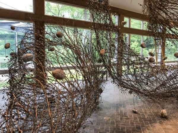 """Sherry Owens: """"Entangled"""" at The UMLAUF Sculpture Garden and Museum"""