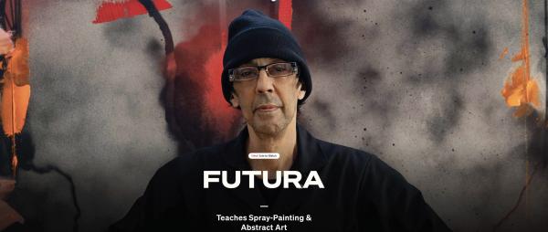 MASTERCLASS: FUTURA Teaches Spray Painting and Abstract Art