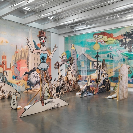 PRESS: JIM SHAW AT THE NEW MUSEUM
