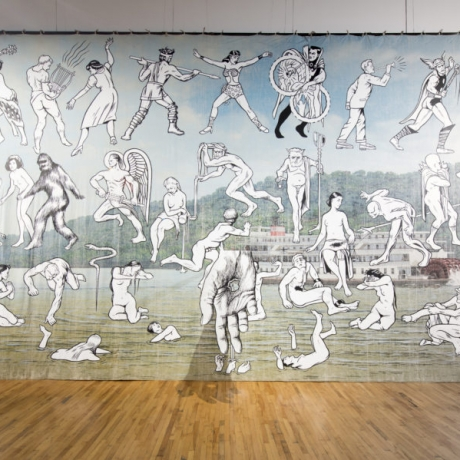 JIM SHAW AT MASS MOCA