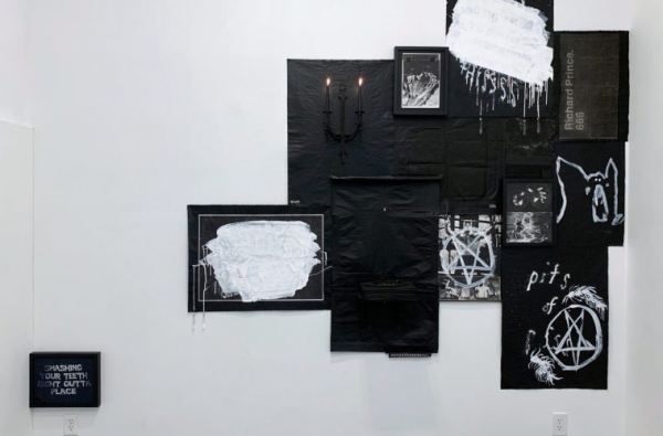 ART REVIEW: JESSE DRAXLER: TABLE OF LOSSES AT NO GALLERY