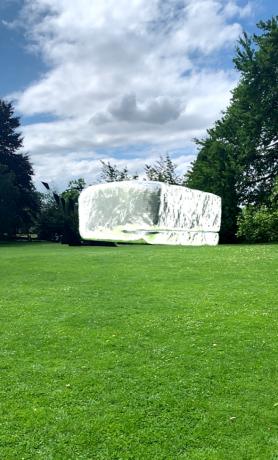 Koo Jeong-A's AR sculpture : Density