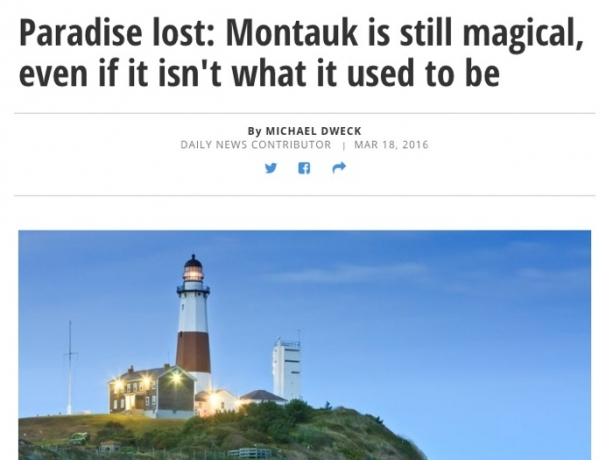 Paradise Lost: Montauk is still magical, even if it isn't what it used to be