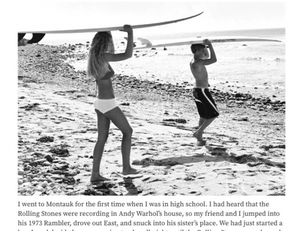 Michael Dweck Recalls his Coming of Age in Montauk