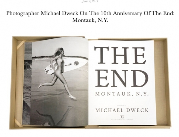 Photographer Michael Dweck On The 10th Anniversary Of The End: Montauk, N.Y.