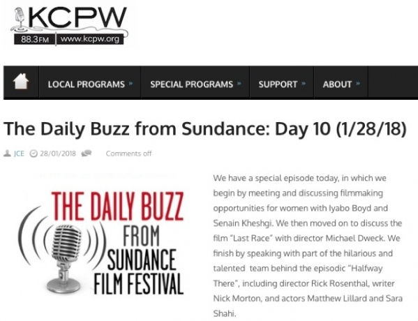 The Daily Buzz from Suncance: Day 10