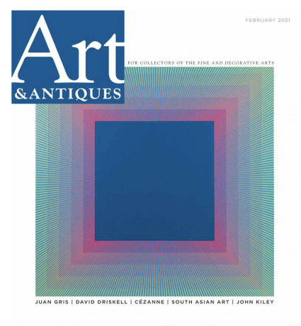 Review: Doyle Gertjejansen in Art and Antiques Magazine