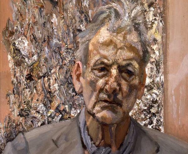 Freud - Self Portrait, Reflection
