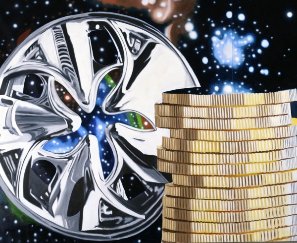 Rosenquist - The Richest Person Gazing at the Universe through a Hubcap