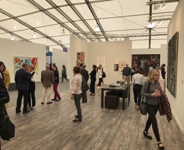 art fair installation image