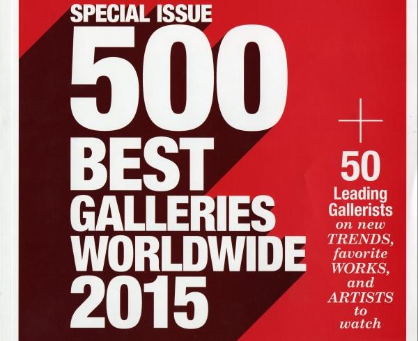 Modern Painters 500 Best Galleries Worldwide
