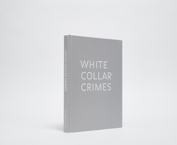 White Collar Crimes cover, grey