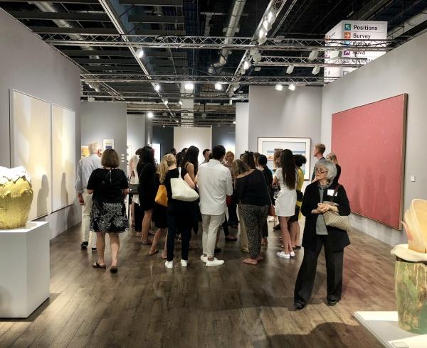 Basel art fair booth installation