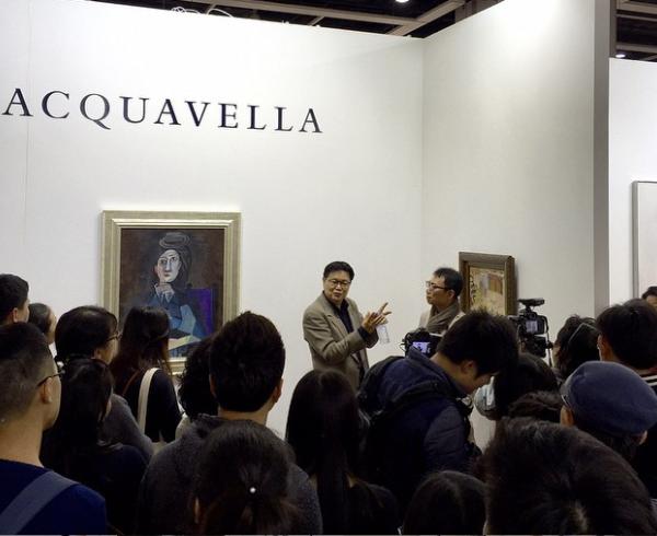 Acquavella booth Art Basel Hong Kong (Picasso)