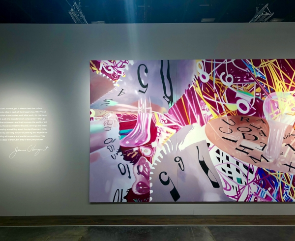 Art Basel Miami Beach Rosenquist installation