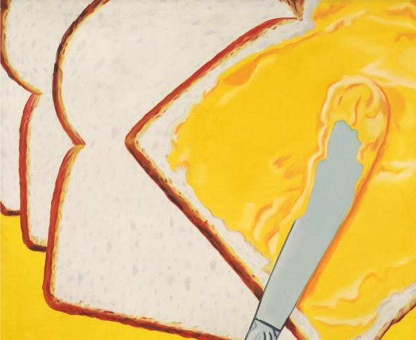 James Rosenquist, White Bread, 1964