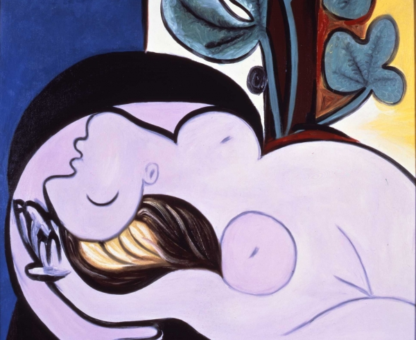 """Picasso, """"Nude on a Black Armchair"""" (1932)"""