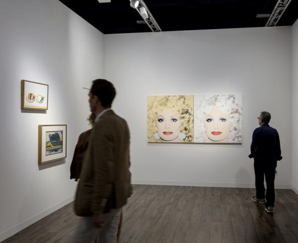 Art Basel in Miami Beach, 2016 - Acquavella Booth