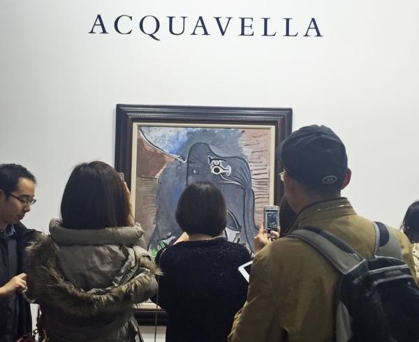 ABHK Acquavella booth (Picasso)