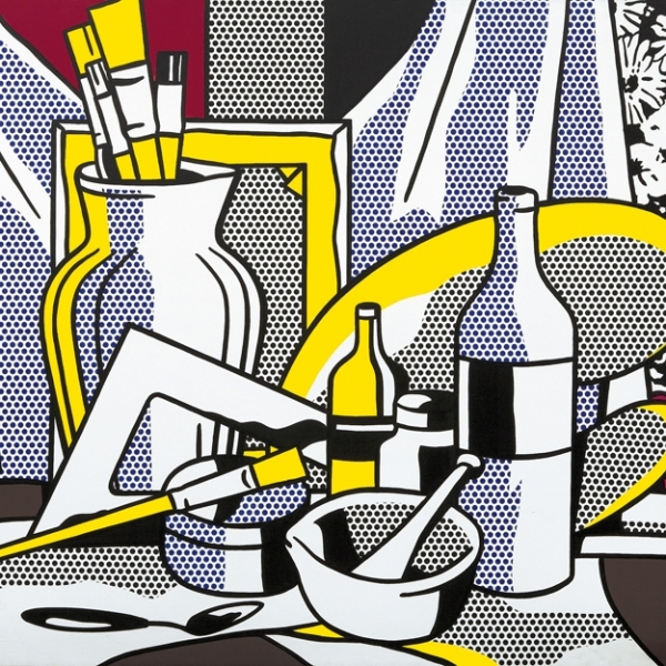 Roy Lichenstein, Still Life with Pallette, 1971